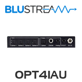 BluStream OPT41AU 4-Way Optical Switch with Built-In DAC and Audio Conversion