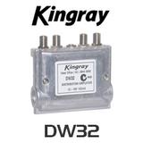 Kingray DW32 F Type MATV Distribution Amplifier
