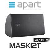 """Apart MASK12T 12"""" 100V Two-Way Full Range Loudspeaker (Each)"""