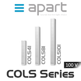 Apart COLS Series 100V Slimline Column Speaker for Speech