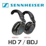 Sennheiser HD7DJ / HD8DJ Professional DJs and Producers Over Ear Closed Headphones