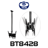B-Tech BT8428 Back-to-Back Flat Screen Ceiling Mount with Tilt - Up to 55""