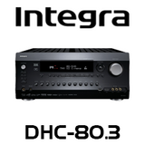 Integra DHC-80.3 9.2 Channel THX Network AV Preamp with 4K Scaling (Used)