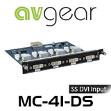 AVGear MC-4I-DS 4 Seamless Switching DVI Input Card