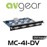 AVGear MC-4I-DV 4 DVI Input Card