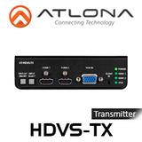 Atlona Dual HDMI and VGA / Audio to HDBaseT Switcher Transmitter