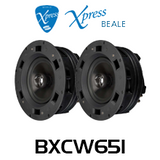 """Beale Xpress BXCW651 6.5"""" In-Wall / In-Ceiling Speakers (Pair)"""