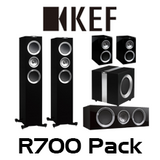 KEF R700 5.1 Channel Speaker Pack