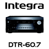 Integra DTR-60.7 7.2-Channel THX, DTS:X & Dolby Atmos Ready Network A/V Receiver