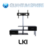 "Quantum Sphere LK1 3 Shelfs Entertainment Unit Integrated with 32""-55"" LCD TV Mount"