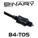 Binary B4 Series Toslink Cable