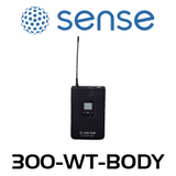 Sense UHF Wireless Bodypack Lavalier Microphone Transmitter (638-674MHz)