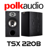 Polk Audio TSX 220B Bookshelf Speakers (Pair)