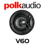 """Polk Audio V60 6.5"""" In-Ceiling Round Speaker (Each)"""