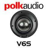 """Polk Audio V6S 6.5"""" Stereo / Surround In-Ceiling Round Speaker (Each)"""