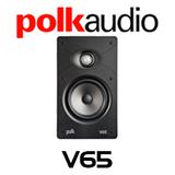 """Polk Audio V65 6.5"""" Vanishing In-Wall Speaker (Each)"""