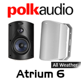 "Polk Audio ATRIUM 6 5.25"" All-Weather Outdoor Loudspeakers (Pair)"