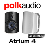 "Polk Audio ATRIUM 4 4.5"" All-Weather Outdoor Loudspeakers (Pair)"