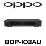 Oppo BDP-103AU 3D Blu-Ray Player with SACD
