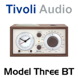 Tivoli Model Three Bluetooth AM / FM Analog Clock Table Radio
