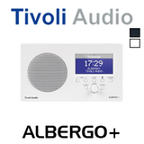Tivoli Audio Albergo+ Bluetooth FM / DAB+ Clock Table Radio