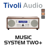 Tivoli Audio Music System Two+ FM / DAB+ Hi-Fi System with Bluetooth