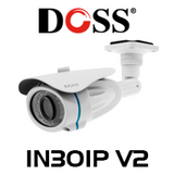 Doss IN30IP V2 2.4MP 1080P IP Camera with PoE & 30M IR