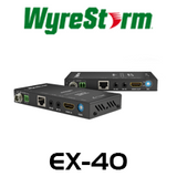 WyreStorm HDMI Extender Set with 2-Way IR - Up to 40m