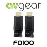 AVGear AVG-FO100 HDMI Mini Optical Fibre Extender Pair - 4K Supported