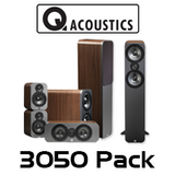 Q Acoustics 3000 Series 3050 Floorstanding 5.1Home Theatre Cinema Pack