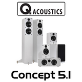 Q Acoustics Concept 5.1 Cinema Pack
