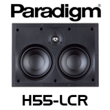 "Paradigm CI Home H55-LCR Dual 5.5"" 2-Way LCR In-Wall Speaker (Each)"