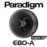 "Paradigm CI Elite E80-A 8"" 30°-Angled In-Ceiling Speaker (Each)"