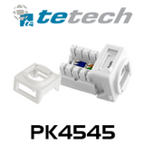 TE RJ45 CAT6 Mechanism Socket