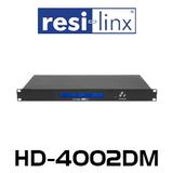 Resi-Linx HD-4002DM Professional Quad Input HD DVB-T Digital Modulator