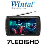 "Wintel 7"" Widescreen Portable HD LED LCD TV"