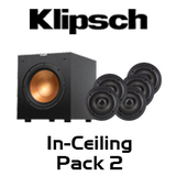 Klipsch CDT-2650-C II 5.1 In-Ceiling Speaker Pack