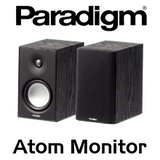 "Paradigm Atom Monitor v7 5.5"" 2-Way Bass Reflex Bookshelf Speakers (Pair)"