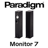 "Paradigm Monitor 7 v7 5.5"" Bass Reflex Floorstanding Speakers (Pair)"