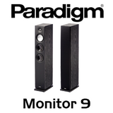 "Paradigm Monitor 9 v7 Dual 5.5"" Bass Reflex Floorstanding Speakers (Pair)"