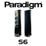 "Paradigm Signature S6 Two 7"" 3-Way Floorstanding Speakers (Pair)"