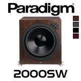 "Paradigm Prestige 2000SW 15"" 2000W Ultra-Class D Subwoofer"