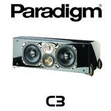 "Paradigm Signature C3 Dual 7"" 3-Way Centre Channel Speaker (Each)"