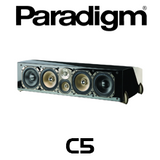 "Paradigm Signature C5 Dual 7"" 3.5-Way Centre Channel Speaker (Each)"