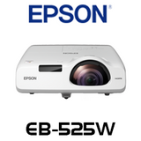 Epson EB-525W 2800 Lumens WXGA 3LCD Short Throw Projector