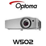 Optoma W502 WXGA 5000 Lumens DLP Multimedia Projector