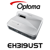 Optoma EH319UST 3D 1080P 3500 Lumens Ultra Short Throw DLP Projector