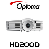 Optoma HD200D 1080P 2200 Lumens Home Theatre Projector With DARBEE