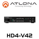 Atlona 4 Input HDMI Switcher with Auto-switching and Mirrored HDMI Outputs