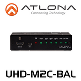 Atlona 4K UHD HDMI Multi-Channel Digital to Two-Channel Balanced Analog Audio Converter